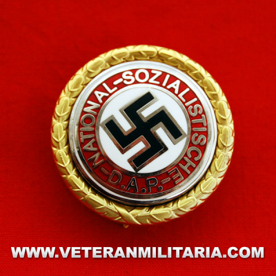 The Golden Party Badge of the N.S.D.A.P.